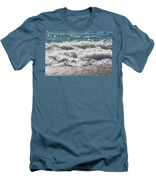 Men's T-Shirt (Athletic Fit) featuring the photograph Oceans Layers by Colleen Coccia