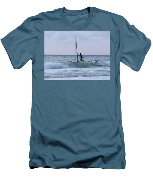 Off Fishing Men's T-Shirt (Athletic Fit)
