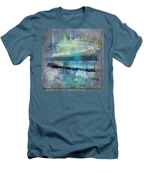 Ohio River Splatter Men's T-Shirt (Athletic Fit)