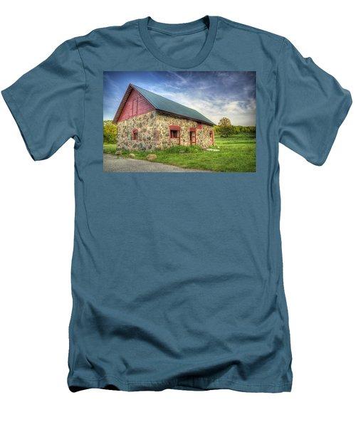 Old Barn At Dusk Men's T-Shirt (Athletic Fit)