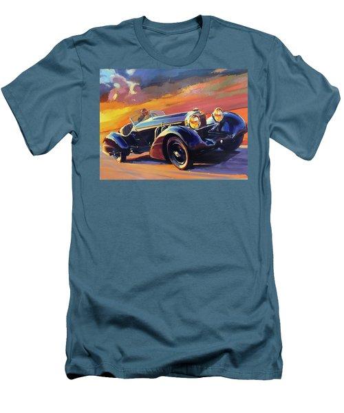 Old Car Racing Men's T-Shirt (Athletic Fit)