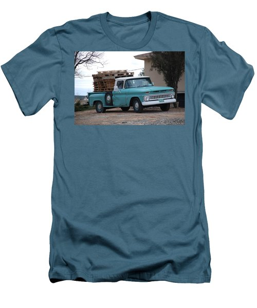 Men's T-Shirt (Slim Fit) featuring the photograph Old Chevy by Rob Hans