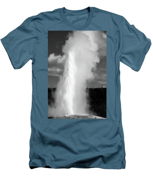 Men's T-Shirt (Athletic Fit) featuring the photograph Old Faithful by Colleen Coccia