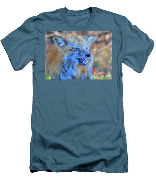 Men's T-Shirt (Athletic Fit) featuring the photograph Old Fox by Debbie Stahre