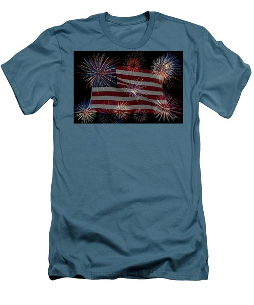 Old Glory Men's T-Shirt (Athletic Fit)