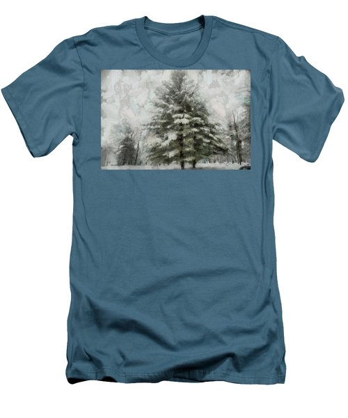 Old Piney Men's T-Shirt (Slim Fit) by Trish Tritz