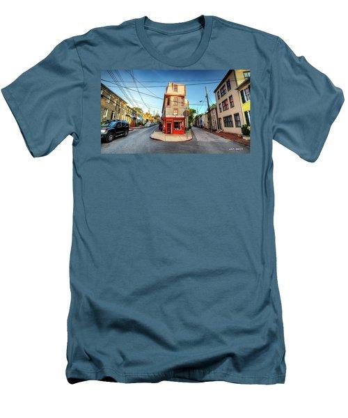 Old School Annapolis Men's T-Shirt (Athletic Fit)