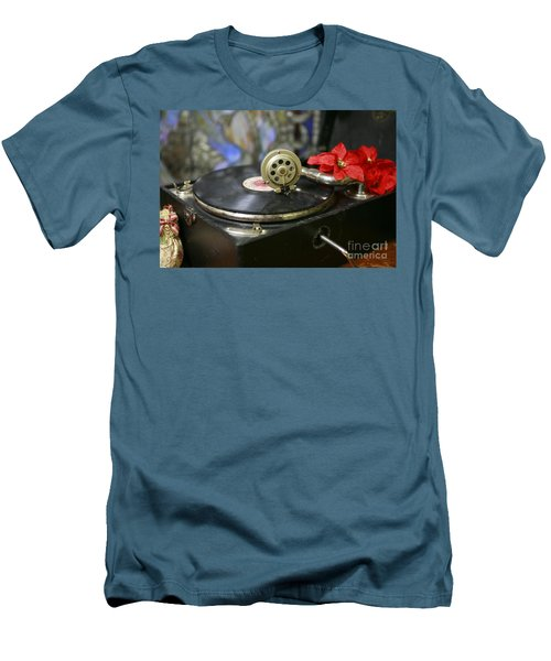 Men's T-Shirt (Athletic Fit) featuring the photograph Old Time Photo by Lori Mellen-Pagliaro