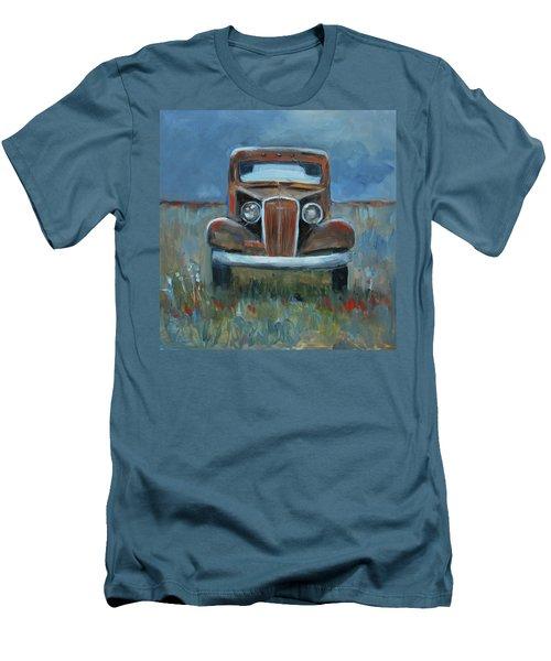 Old Timer Men's T-Shirt (Slim Fit) by Billie Colson