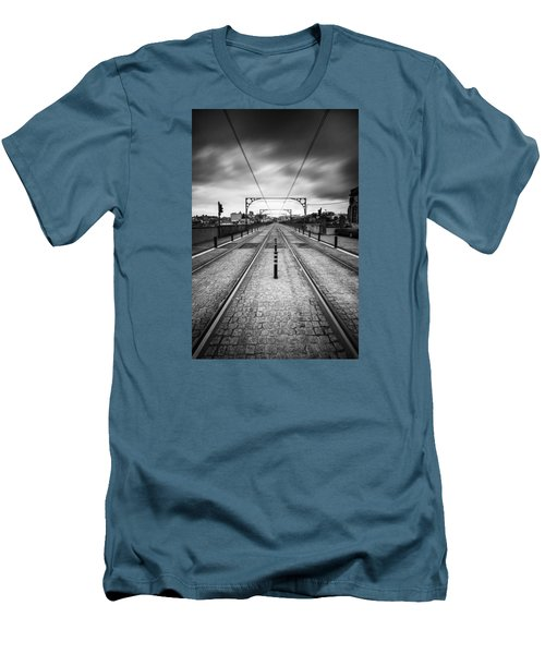 On A Gloomy Day Men's T-Shirt (Athletic Fit)
