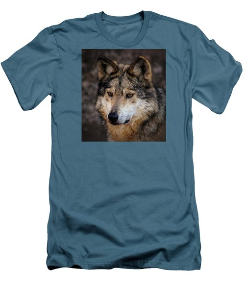 Men's T-Shirt (Slim Fit) featuring the photograph On Alert by Elaine Malott