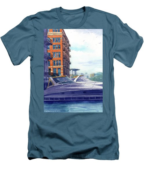 On The Docks Men's T-Shirt (Athletic Fit)
