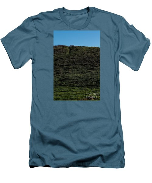 On The Hill Men's T-Shirt (Slim Fit) by Gary Bridger