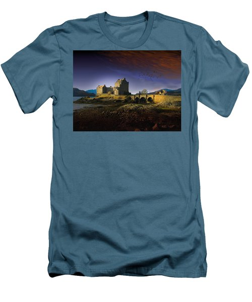 On The Way Home Men's T-Shirt (Slim Fit) by J Griff Griffin