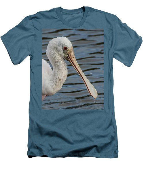 One Drop Closeup Men's T-Shirt (Athletic Fit)