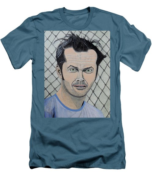 One Flew Over The Cuckoo's Nest. Men's T-Shirt (Athletic Fit)