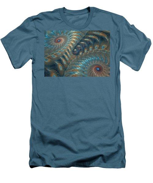 Opal Snails Men's T-Shirt (Athletic Fit)