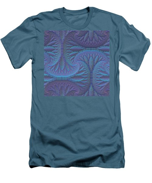 Men's T-Shirt (Slim Fit) featuring the digital art Opalescence by Lyle Hatch