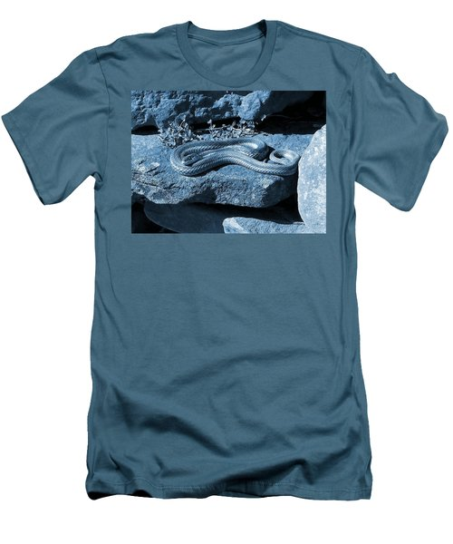 Opaque Garter Snake Men's T-Shirt (Athletic Fit)