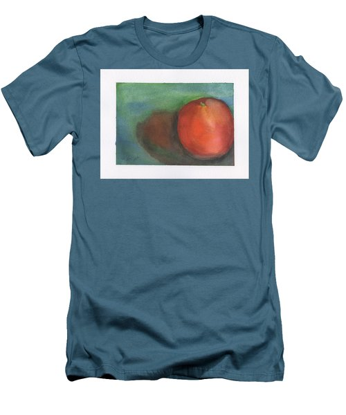 Men's T-Shirt (Slim Fit) featuring the painting Orange Still Life by Frank Bright