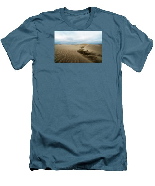 Men's T-Shirt (Slim Fit) featuring the photograph Oregon Dune Wasteland 1 by Ryan Manuel