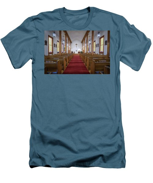 Our Lady Of Mount Carmel Men's T-Shirt (Slim Fit) by Andy Crawford