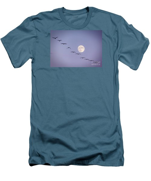 Out Of Sync Men's T-Shirt (Slim Fit) by Janice Rae Pariza