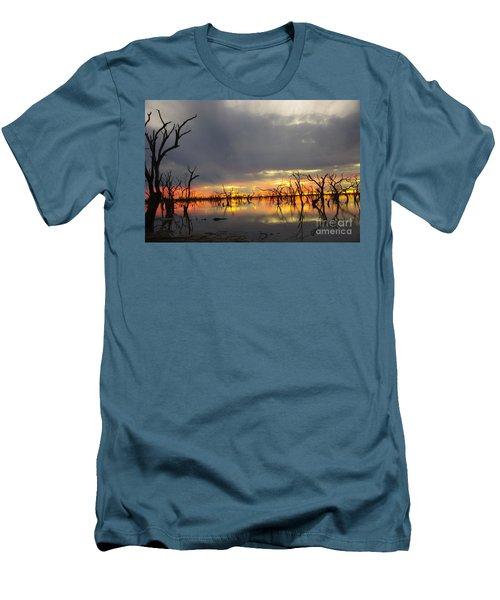 Outback Sunset Men's T-Shirt (Slim Fit) by Blair Stuart