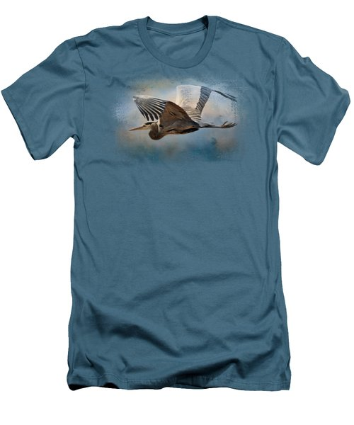 Over Ocean Skies Men's T-Shirt (Slim Fit) by Jai Johnson