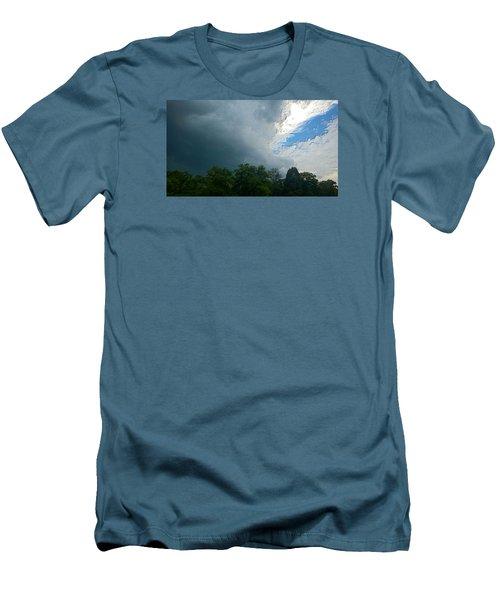 Overcome Men's T-Shirt (Slim Fit) by Carlee Ojeda