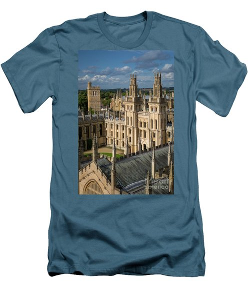 Men's T-Shirt (Slim Fit) featuring the photograph Oxford Spires by Brian Jannsen