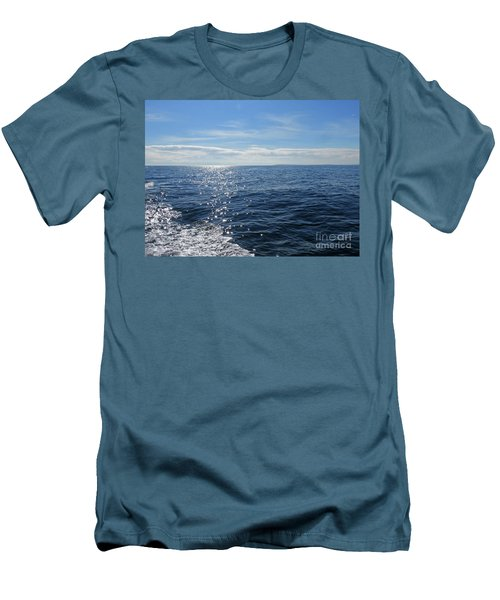 Pacific Ocean Men's T-Shirt (Slim Fit) by Cindy Murphy - NightVisions