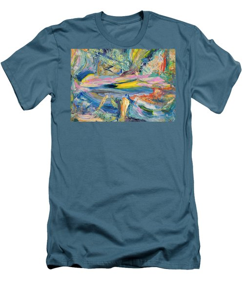 Paint Number 31 Men's T-Shirt (Slim Fit) by James W Johnson