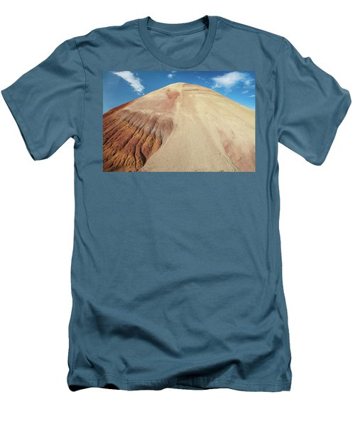 Men's T-Shirt (Slim Fit) featuring the photograph Painted Mound by Greg Nyquist