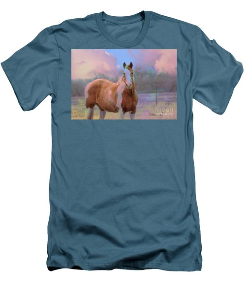 Painted Naturally Men's T-Shirt (Athletic Fit)