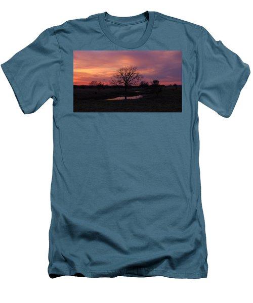 Men's T-Shirt (Slim Fit) featuring the photograph Painted Sky by Ricardo J Ruiz de Porras
