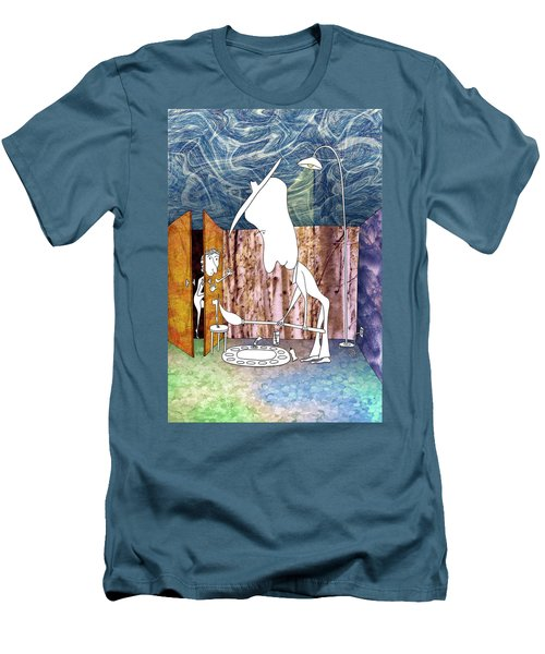 Painter Men's T-Shirt (Athletic Fit)