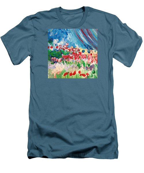 A Corner Of Her Men's T-Shirt (Slim Fit) by Charity Janisse