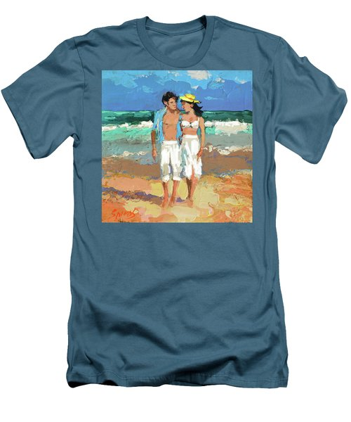 Pair By The Sea Men's T-Shirt (Athletic Fit)