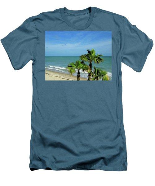 Palms At Vero Beach Men's T-Shirt (Athletic Fit)