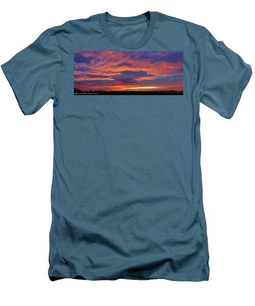 Pana 53rd Ave Sunrise Men's T-Shirt (Athletic Fit)