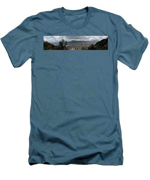 Panorama Palermo Men's T-Shirt (Slim Fit) by Patrick Boening