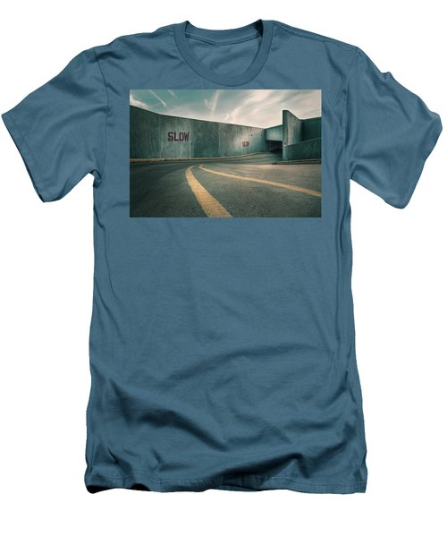 Parking Garage At The End Of The World Men's T-Shirt (Athletic Fit)