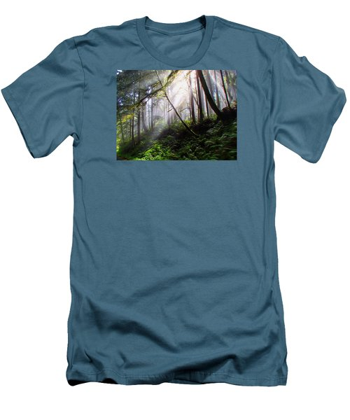 Parting Of The Mist Men's T-Shirt (Athletic Fit)