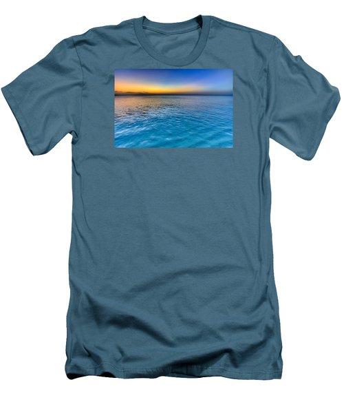 Pastel Ocean Men's T-Shirt (Slim Fit) by Chad Dutson