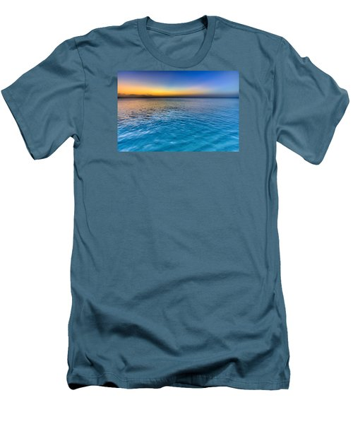 Pastel Ocean Men's T-Shirt (Athletic Fit)