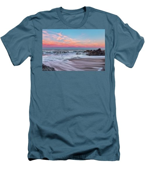 Pastel Sunrise Men's T-Shirt (Athletic Fit)