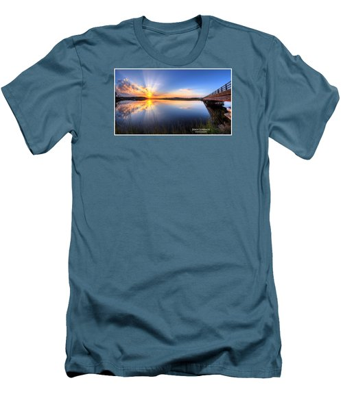 Patcong Rays Men's T-Shirt (Slim Fit) by John Loreaux