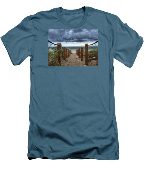 Pathway To The Clouds Men's T-Shirt (Athletic Fit)