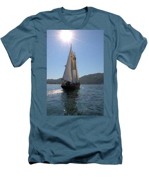 Patricia Belle 03 Men's T-Shirt (Slim Fit) by Jim Walls PhotoArtist